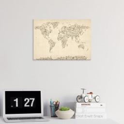 Australia Paint Splashes Map by Michae Tompsett